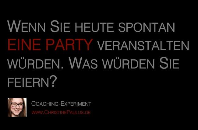 Coaching Christine Paulus Party