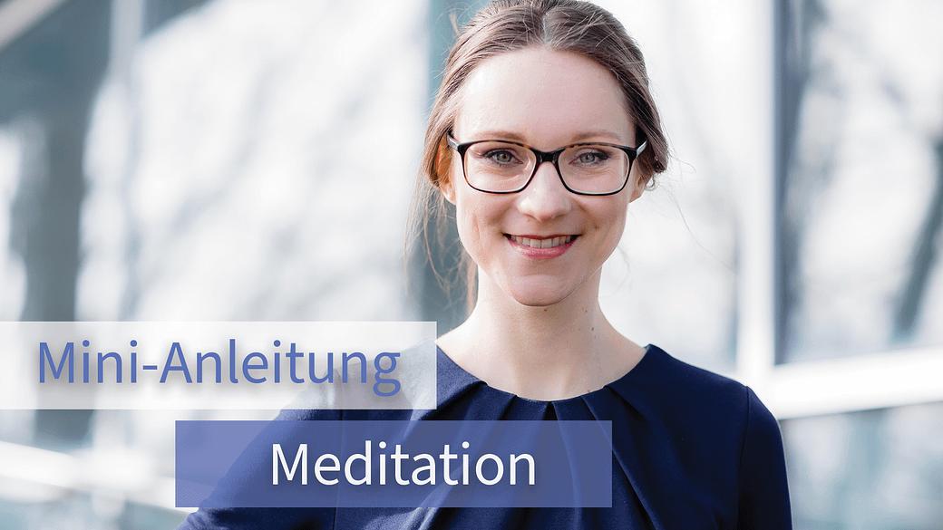 Christine Paulus Meditieren lernen Anleitung Anfänger Online Coaching