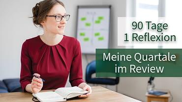 Christine Paulus Quartärliches Review Quartalsziele Persönliche Reflexion Online Coaching